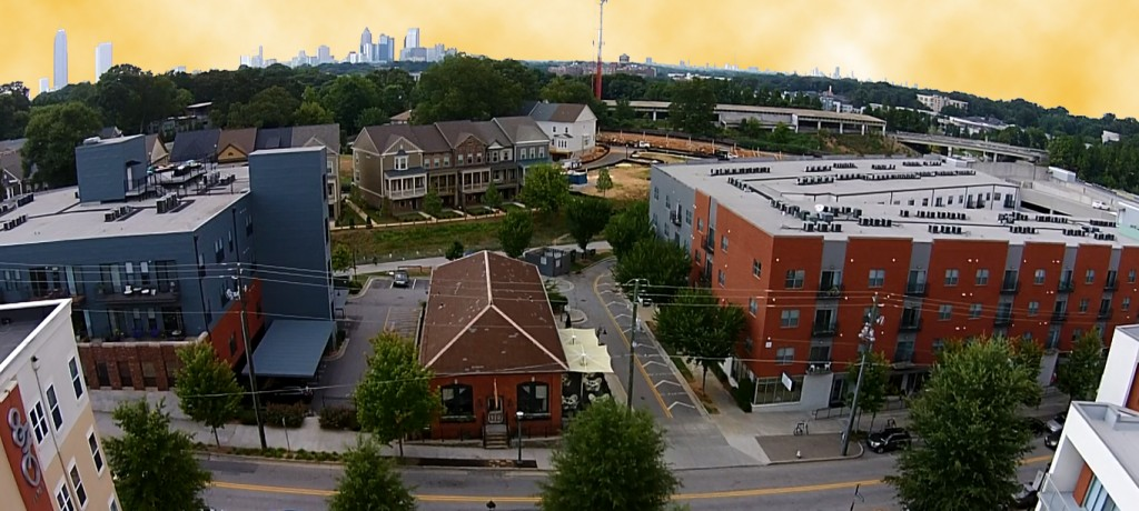Inman Park Drone Video