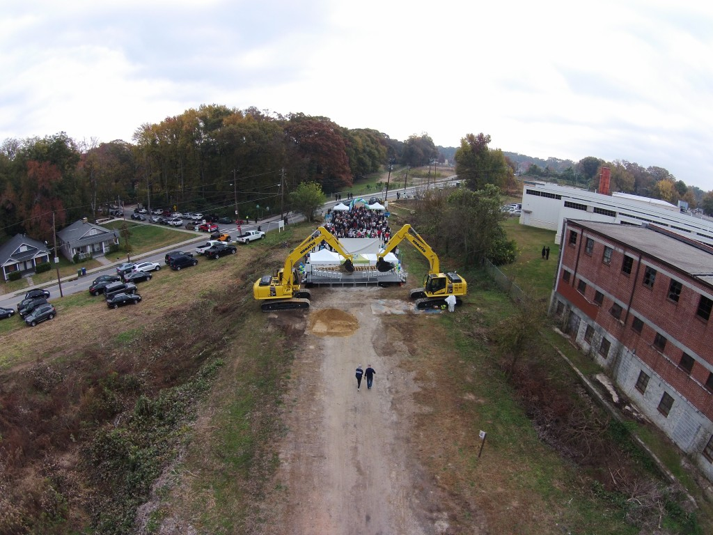 Atlanta BeltLine Westside Trail Ground Breaking Drone Video
