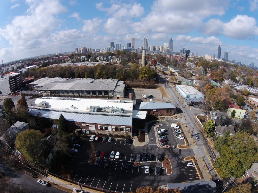 Krog Street Market Drone Video