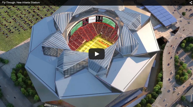 Atlanta Falcons New Stadium Virtual Tour