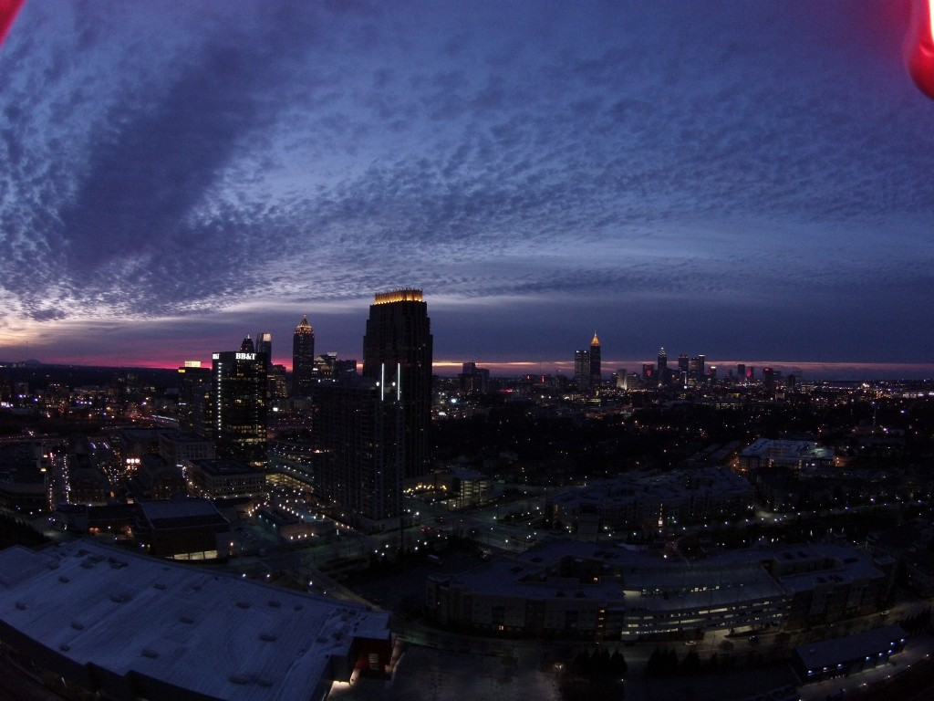 Atlanta Sunrise Drone Video
