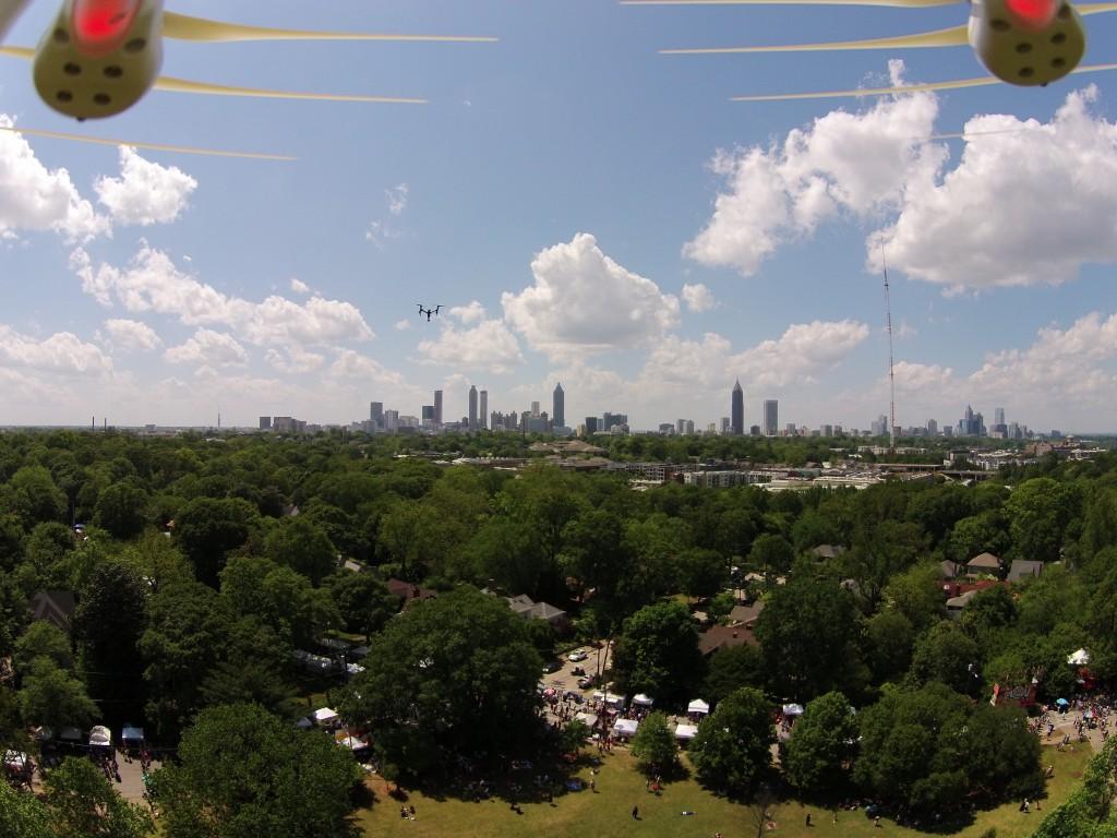 Inman Park Festival Drone Video