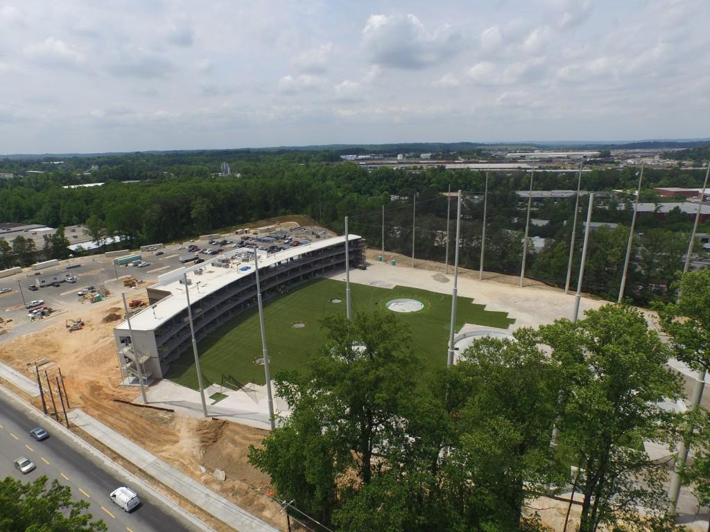 Top Golf Midtown Atlanta Phantom 3 Drone Video