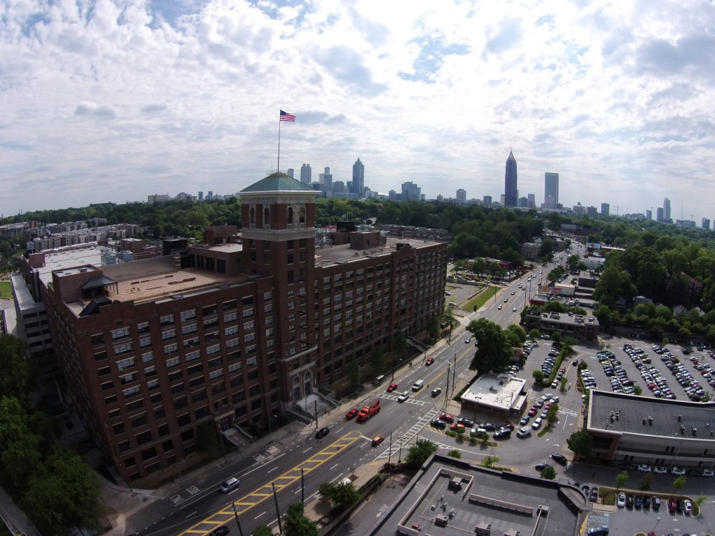 Ponce City Market Drone Video