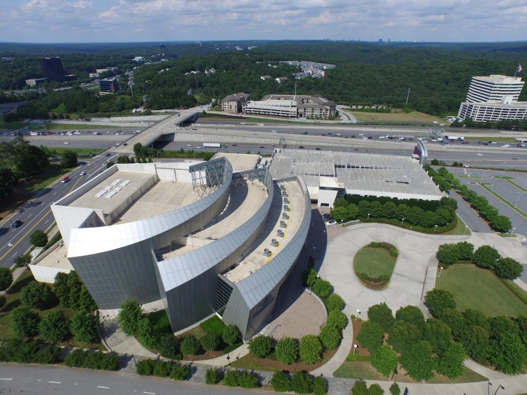 Cobb Energy Centre Drone Video