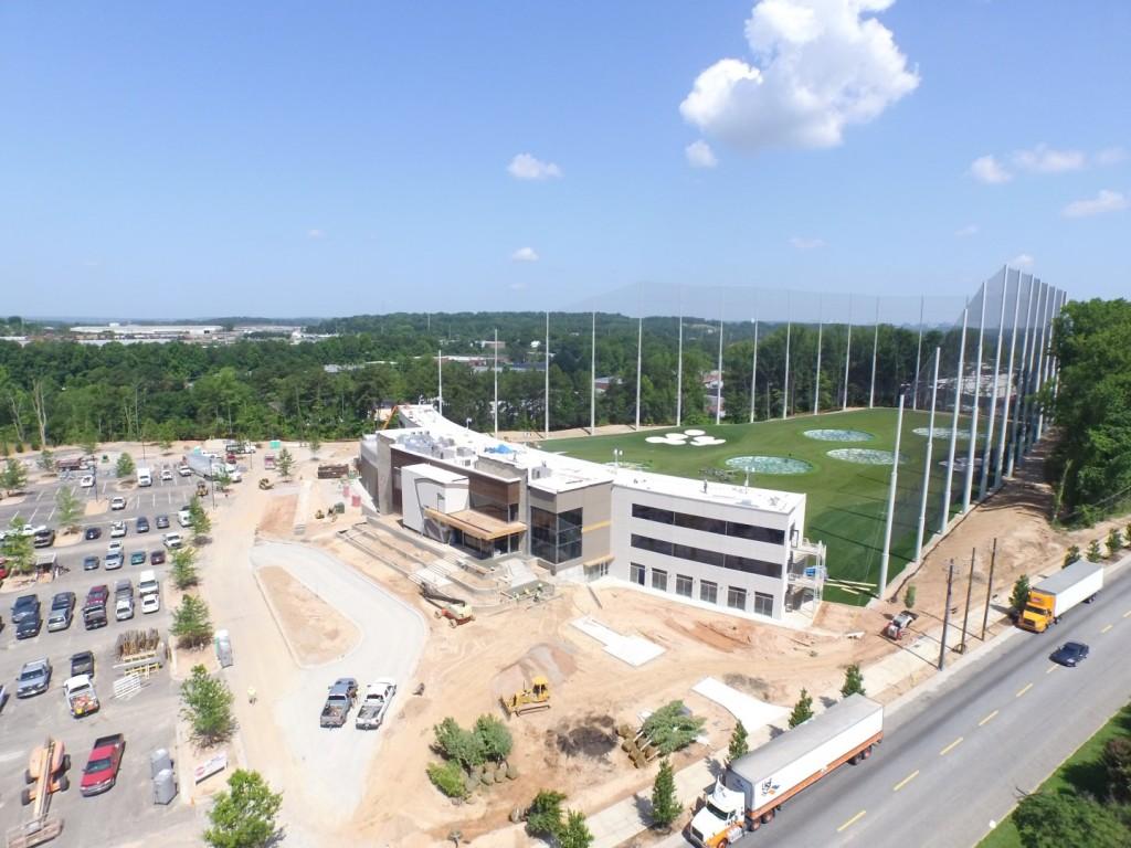 Top Golf Midtown Atlanta Drone Video