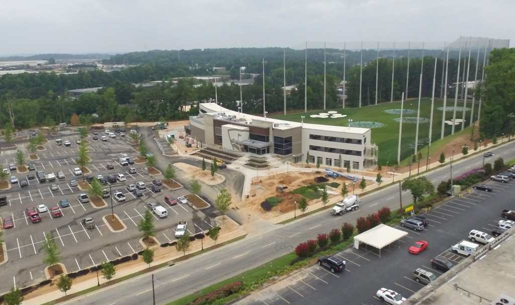 TopGolf Midtown Atlanta Drone Video Update