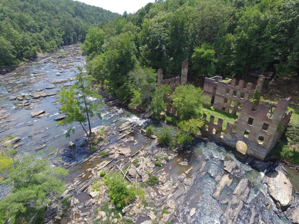 Sweetwater Creek State Park Drone Video