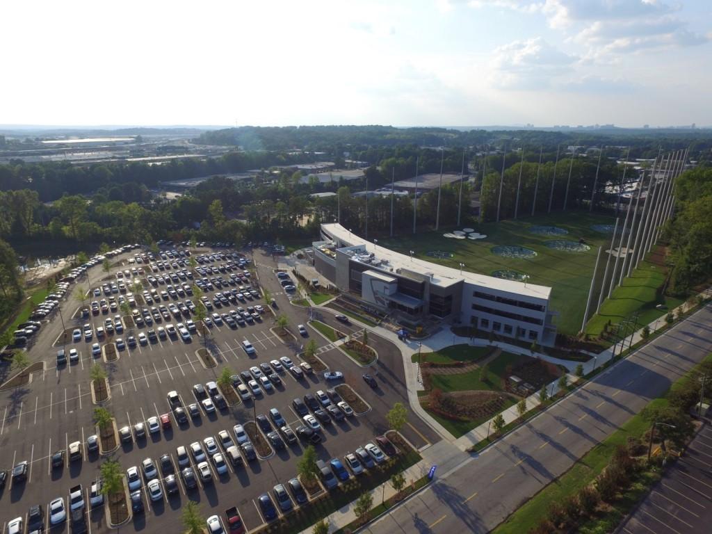 TopGolf Midtown Atlanta Grand Opening Drone Video