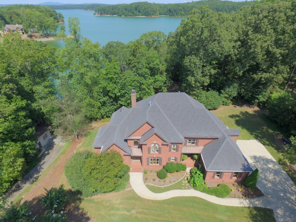 Lake Lanier Waterfront Home Drone Video