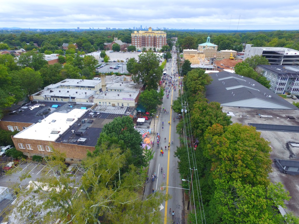 Atlanta Streets Alive Drone Video